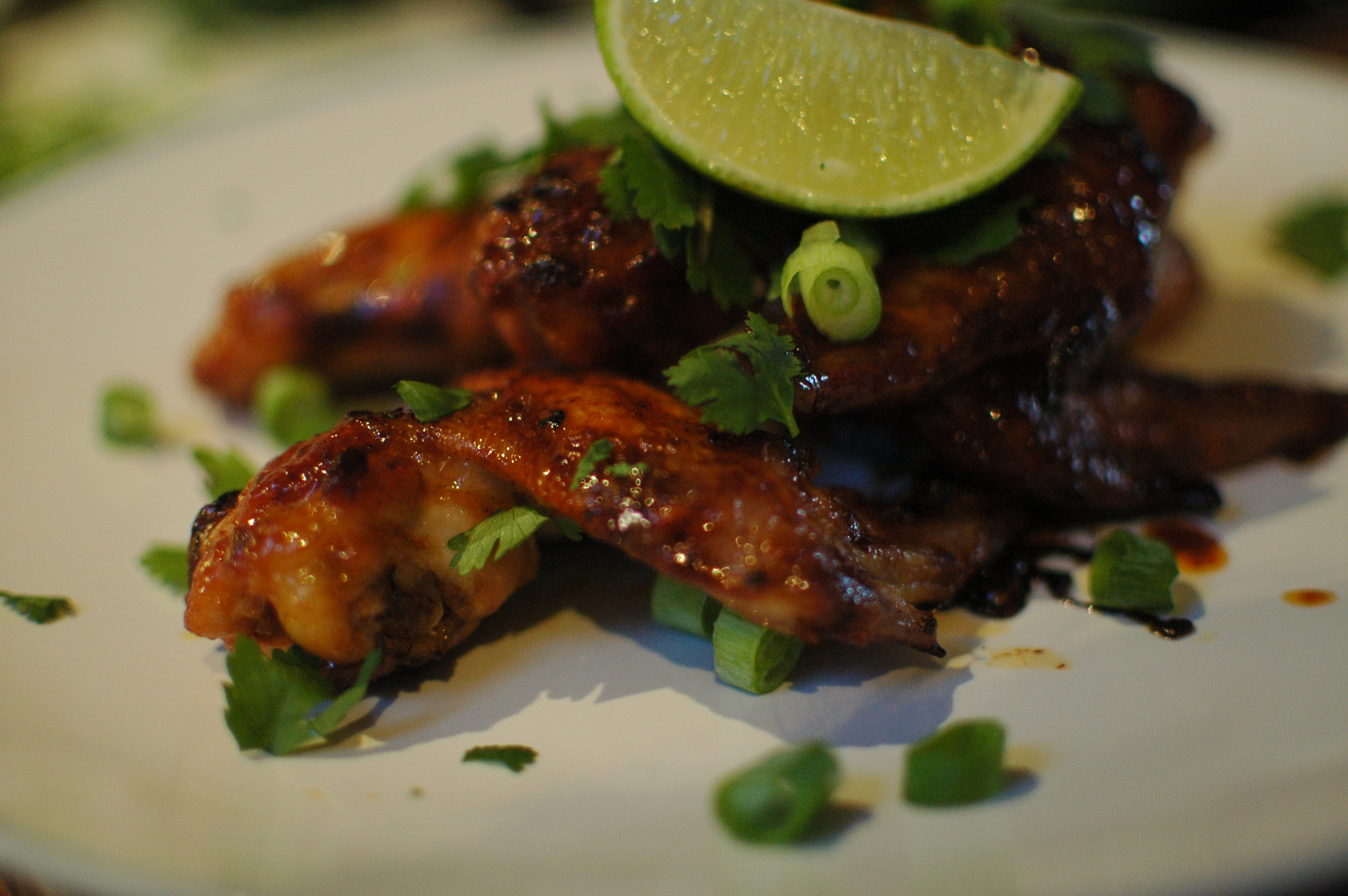 Sriracha Glazed Wings